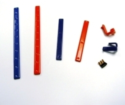 Plastic coated busbar
