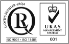 ISO9001, ISO13485 with UKAS