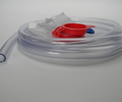 Enema bag and tubing