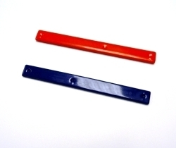 Plastic coated busbar