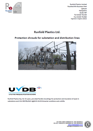 Runfold Plastics, Protection Shrouds for Substation and Distribution